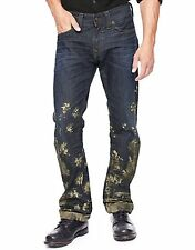 NWT TRUE RELIGION JEANS $298 MENS RICKY STRAIGHT FLAP IN HITCHHIKE TRAIL SZ 30