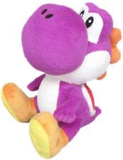 Super Mario Bros Yoshi Purple Nintendo Peluche Plush 17cm MULTIPLAYER