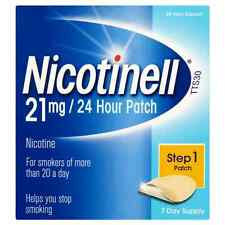 NICOTINELL 21MG / 24 HOUR PATCH STEP 1 PATCH - 7 PATCHES