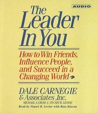 The Leader in You Dale Carnegie Audio Book Brand New Factory Sealed