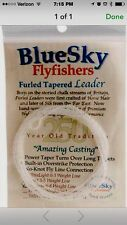 Bluesky Premium Furled Tapered Fly Fishing Leader