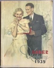 alter Bader Katalog v.1939,Bruno Bader Pforzheim,Versandhauskatalog,Topzustand