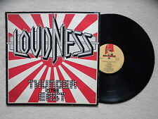 """LP LOUDNESS """"Thunder In The East"""" MUSIC FOR NATIONS MFN 38 FRANCE §"""