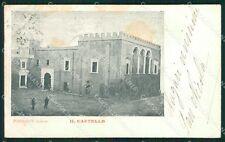 Lecce Presicce Castello cartolina XB0222