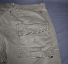 SilverTab Levis Khaki Mens Beige Cargo Pants Size 34 x 32 Silver Tab