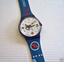 GOT A LETTER! Swatch POSTMAN with DATE By O. DOVOZ! NIB-RARE!