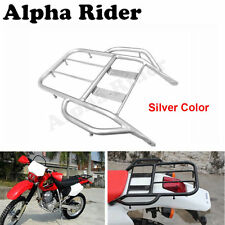 Silver Rear Seat Luggage Rack Tail Rack For HONDA BAJA 250 XR250 XR400 96-04