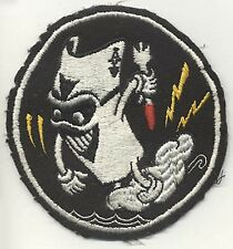 "Korean War USN VF-41 (Fighter Squadron 41) ""Black Aces"" Patch"