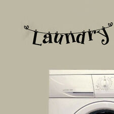 Laundry Room Quote Wall Decor Vinyl Art Laundry Room Decal Modern Lettering
