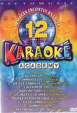 KARAOKE- LARA FABIAN -NOUGARO - BONEY M - GAINSBOURG - MITCHELL -   DVD