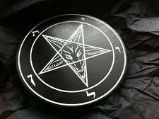 Handmade Sigil of Baphomet plaque