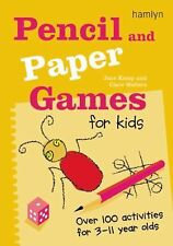 Jane Kemp - Pencil And Paper Games For Kid (2011) - Used - Trade Paper (Pap