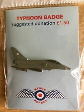 RAF-TYPHOON Badge/Pin-Brand New--All proceeds to Charity