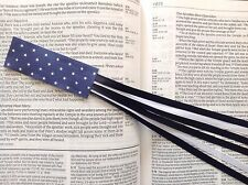 MILITARY SERIES 6 ribbon bookmark multi page US AIR FORCE handmade