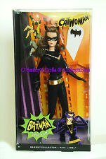 Meow! 1966 CLASSIC TV SERIES CATWOMAN Repro Barbie as LEE MERRIWETHER_Y0304_NRFB