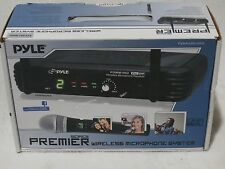 PylePro Professional Premier Series PDWM1902 Wireless Microphone System - 673 MH