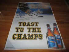 2011 STANLEY CUP BUD Light CHAMPS BOSTON BRUINS Poster