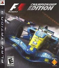 F1 Formula 1 Championship Edition COMPLETE OKAY Sony Playstation 3 PS3