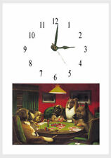 I cani che giocano a Poker Orologio da parete