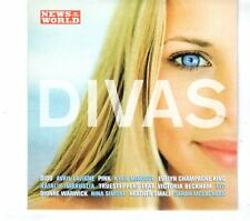 (GR728) Divas, 12 tracks various artists - 2004 News of the World CD