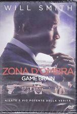 Dvd **ZONA D'OMBRA ~ GAME BRAIN** con Will Smith nuovo 2016