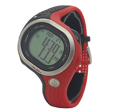 Nike Triax Fury 100 WR0140 012 Black Sport Red Chronograph Mens Digital Watch