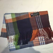 100% Cashmere Winter Scarf Scarve Scotland Warm Plaid Multi-Colored Wrap Shawl
