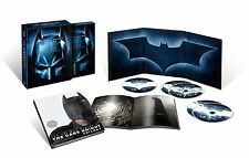The Dark Knight Trilogy Limited Edition(Blu-ray,5-Disc Set) New Complete Giftset