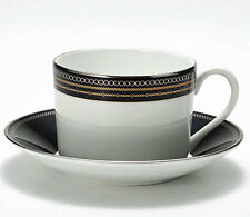 wedgwood VERA WANG WITH LOVE NOIR  CUP & SAUCER  - NEW