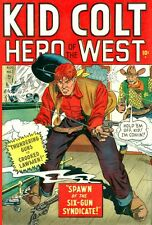 Golden Age Western Comics Kid Colt, Annie Oakley and more on DVD