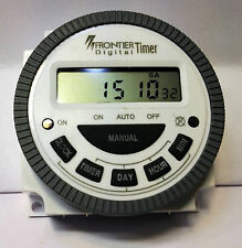 Frontier Digital Timer Programmable Time Switch TM-619H-2 - TIMER  4-PIN