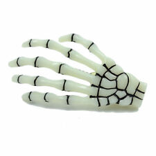 New Fashion Paw Luminous Skeleton Ghost Hand Halloween Hair Clips Hairpin 2 pcs
