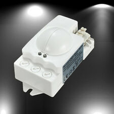 360° 500W Microwave Smart Motion Sensor Light Radar Switch Ceiling Recessed Wall