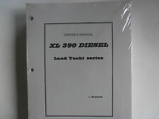 Brand New 1999 Airstream Land Yacht DIESEL XL 390 Owner's Manual