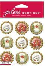 JOLEES BOUTIQUE - HOLIDAY ICON BAUBLES 50-21910