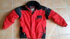 Blouson veste de ski Eider rouge et noir Goretex et polaire de taille 56 XL