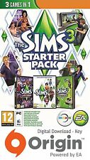 THE SIMS 3 STARTER PACK PC e MAC chiave di origine
