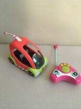 Hasbro 2010 LPS Littlest Pet Shop RC 27MHz Speedy Tails Mouse Car & Remote WORKS
