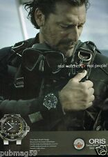 Publicité advertising 2015 La Montre Oris Aquis Depth Gauge