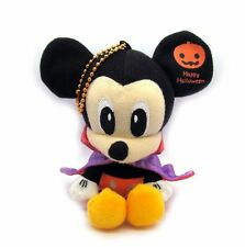 Disney Mickey Mouse Happy Halloween Mini Plush Doll Key Chain 6""