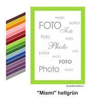 """Holz - Bilderrahmen """"Miami"""" viele Farben/ viele Größen"""