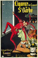 "1920 Liquor Ste. Barbe poster Ad 13 x 19"" Photo Print"