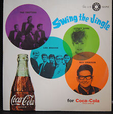 """SWING THE JINGLE/SWINGERS FOR COKE 45 rpm 7"""" EP w/ PICTURE SLEEVE 1966 Coca-Cola"""