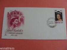 Queen Elizabeth II Silver Jubilee Coronation 25th Intl Annv Stamp Bhutan 1978 #1