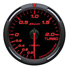 Defi Racer Gauge 60mm Turbo Meter DF11505 Red