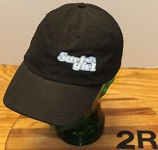 """VERY NICE """"SURF GIRL"""" HAT BLACK ADJUSTABLE EMBROIDERED LETTERING VERY GOOD COND"""