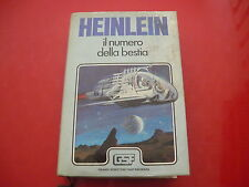 ROBERT A.HEINLEIN: IL NUMERO DELLA BESTIA. EUROCLUB su licenza SONZOGNO 1981