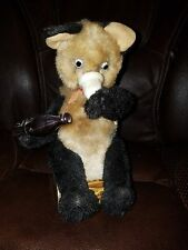 Vintage Battery Operated Drinking Bear