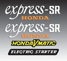 HONDA 1981 NX50M EXPRESS SR KIT DECALS GRAPHIC LIKE NOS NX50 M SCOOTER