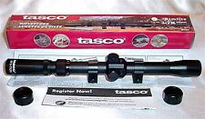 Tasco 3-7 X 20mm .22 Rifle or Air Gun Scope & Rings RF37X20